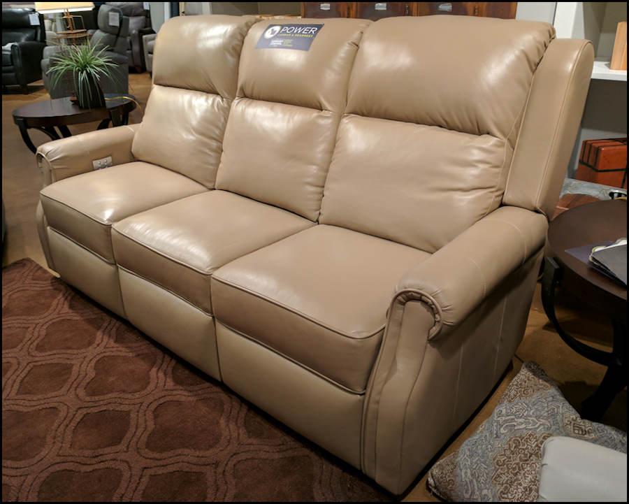 Comfort Design Jamestown Reclining Sofa CL782 LeatherFurnitureUSAcom